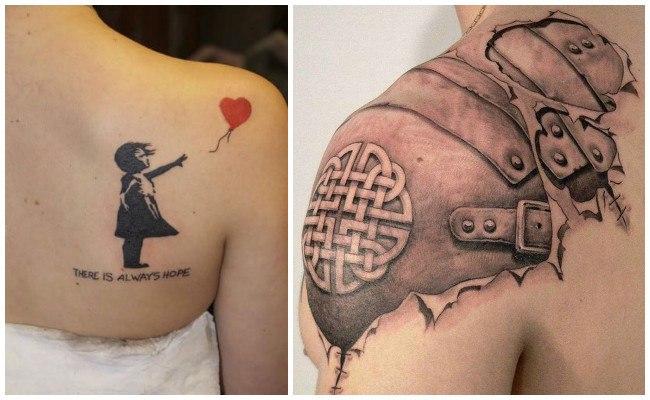 Tatuajes en el hombro con fotos