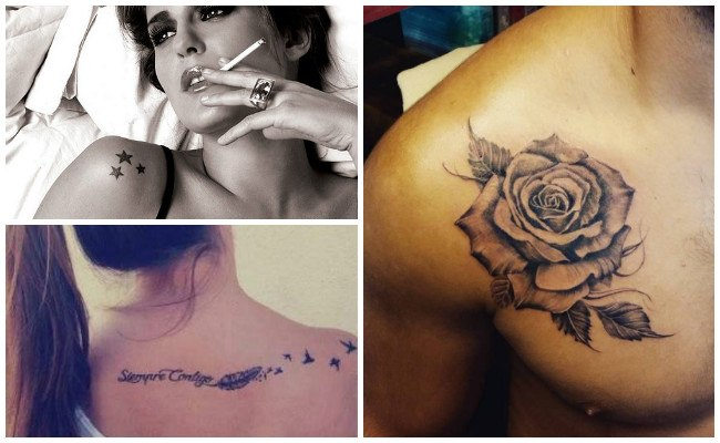 Tatuajes en el hombro e ideas