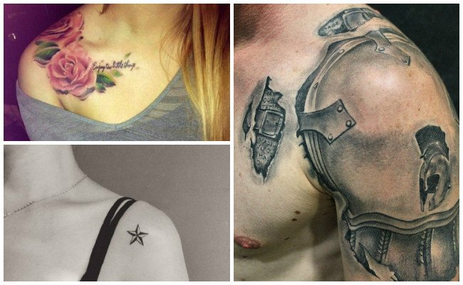 Tatuajes en el hombro e imágenes