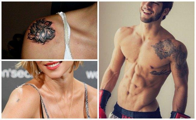 Tatuajes en el hombro izquierdo