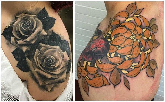 Tatuajes en el hombro pequeños