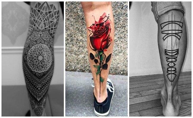 Tatuajes en el muslo de la pierna