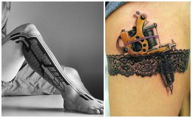 Tatuajes en el muslo con frases