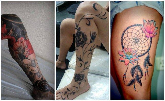 Tatuajes en el muslo para hombres
