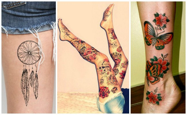 Tatuajes en le muslo