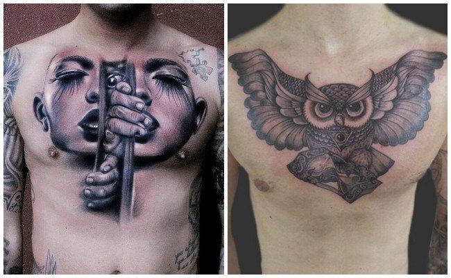 Tatuajes en el pecho y su significado