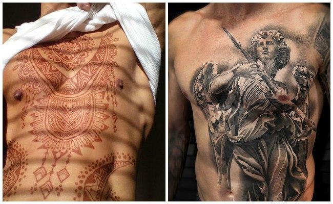 Los Mejores Tatuajes En El Pechopara Mujeres Y Hombres