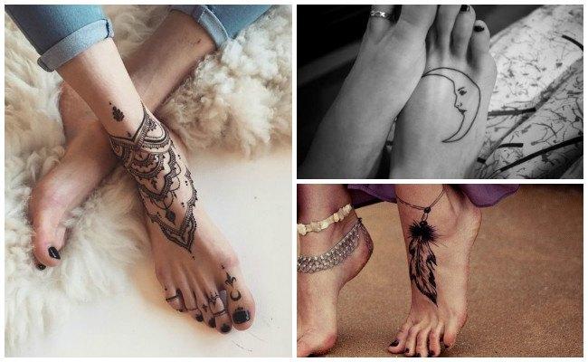 Tatuajes en el pie con nombres