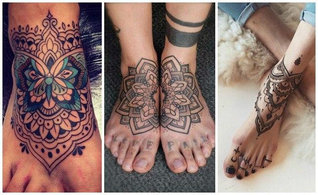 Tatuajes en el pie pequeños
