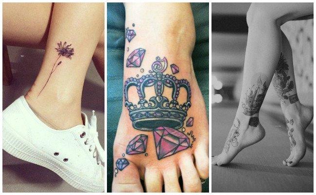 Tatuajes en el tobillo con fotos