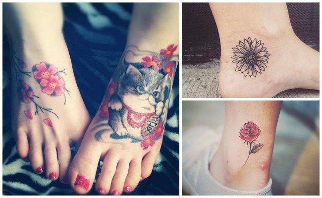 Tatuajes en el tobillo de hadas