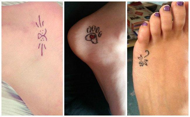 Tatuajes en el tobillo de mujer
