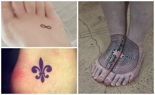 Tatuajes en el tobillo pequeños