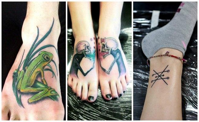 Tatuajes en el tobillo con tribales