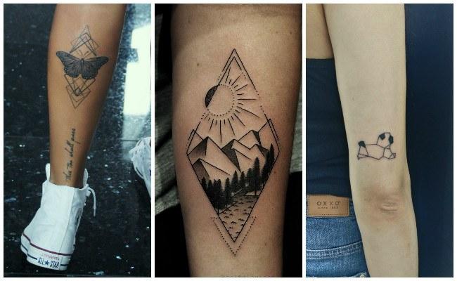 Tatuajes en geometría