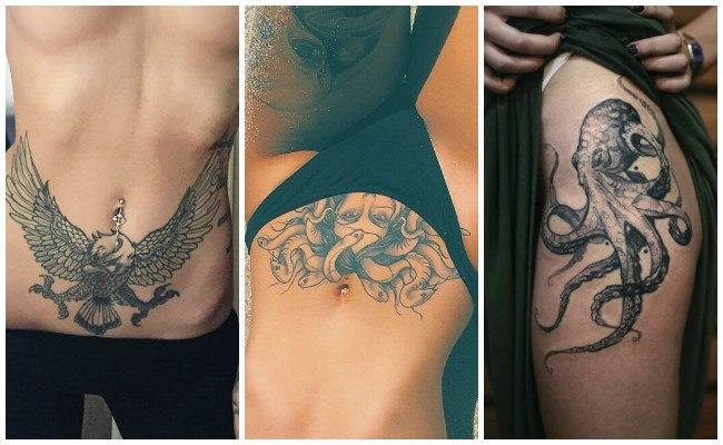 Tatuajes en la cadera con frases