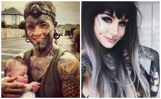 Tatuajes en la cara pequeños