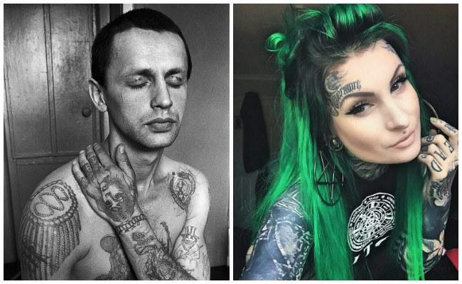 Tatuajes en la cara y su significado