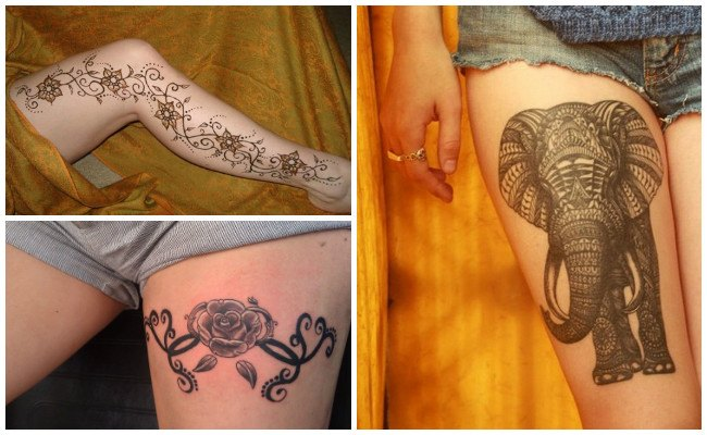 Tatuajes en la entrepierna