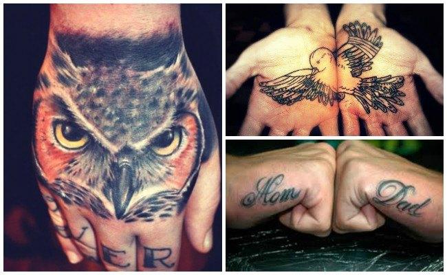 Tatuajes en la mano para mujeres