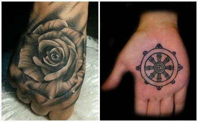 Tatuajes en la mano y si se borran