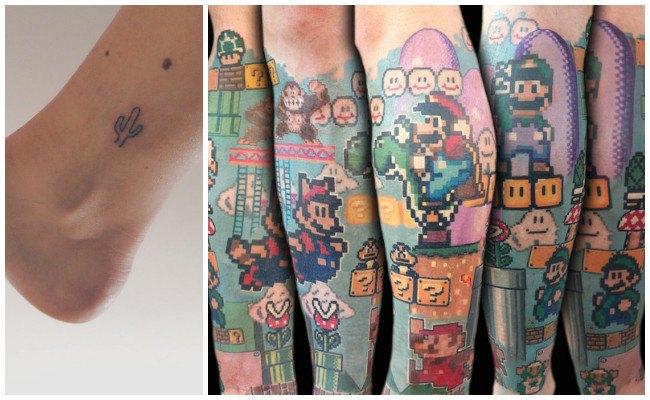 Tatuajes en la pierna derecha