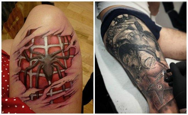 Tatuajes en las pierna con frases