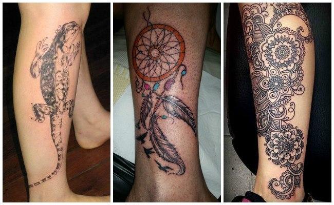 Tatuajes en la pierna para hombre