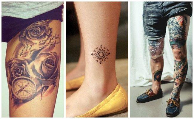 Tatuajes en la pierna pequeños