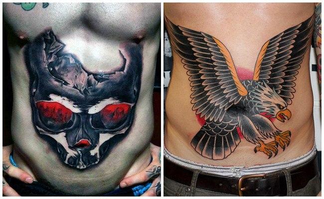 Tatuajes en la tripa
