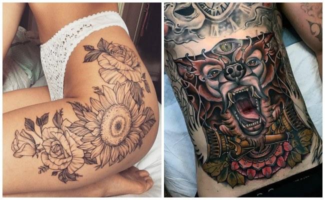Tatuajes en las cadera