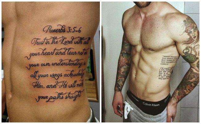 Tatuajes en las costillas y si duelen