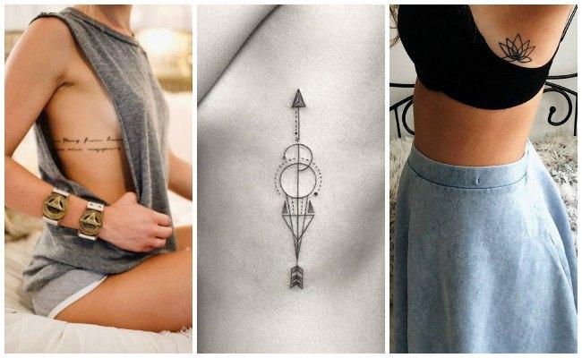 Tatuajes en las costillas e imágenes