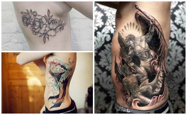 Tatuajes en las costillas de Jesucristo