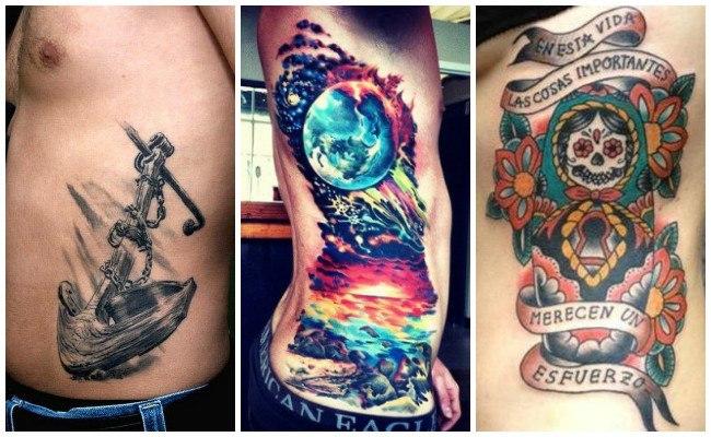 Tatuajes en las costillas para parejas