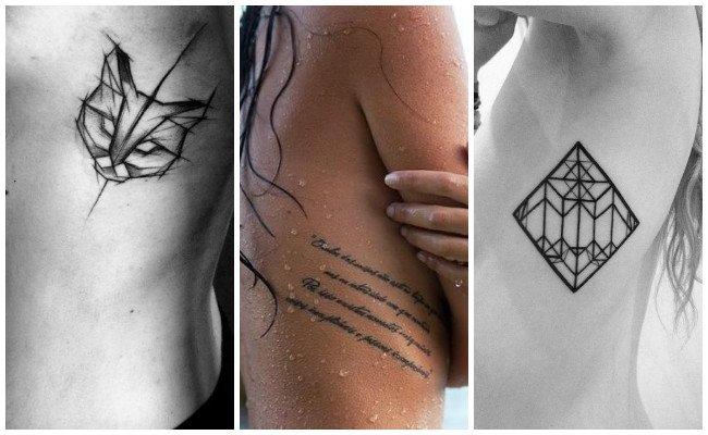 Tatuajes en las costillas y su significado