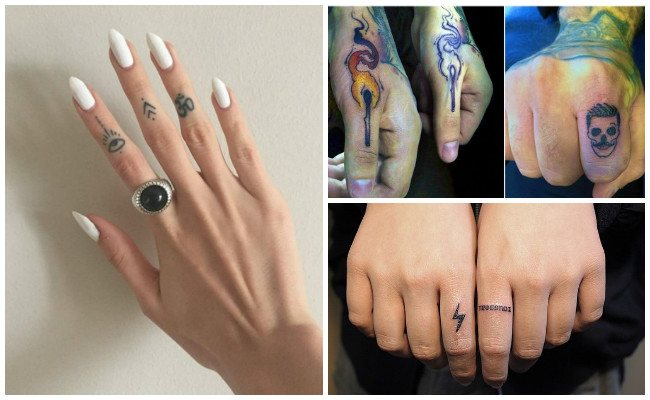 Finger tattoos and images