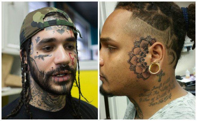 Tatuajes en los ojos y sus consecuencias