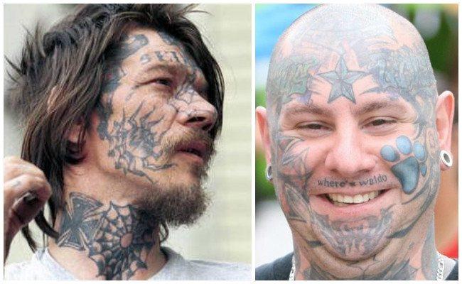 Tatuajes en los ojos y diseños