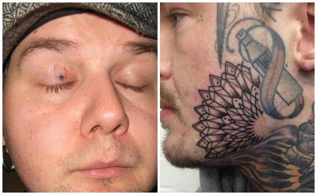 Tatuajes en los ojos e ideas