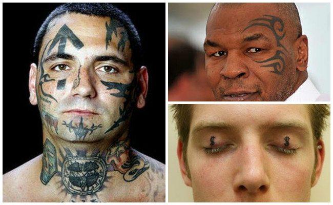 Tatuajes en los ojos e imágenes