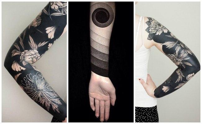 Tatuajes en negro para el brazo