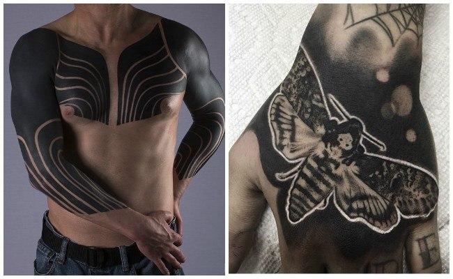 Tatuajes en negro para imprimir