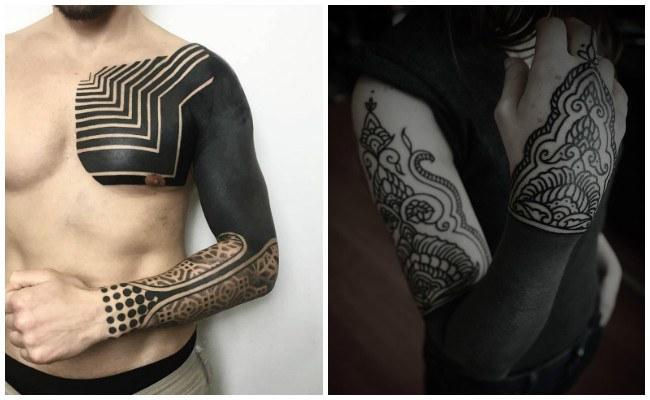 Tatuajes en negro para mujeres