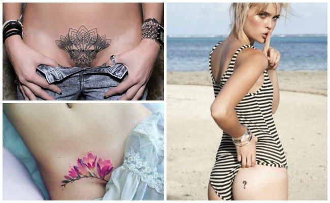 Tatuajes en partes íntimas del hombre