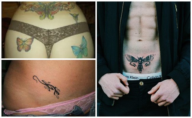 Video de tatuajes en partes intimas