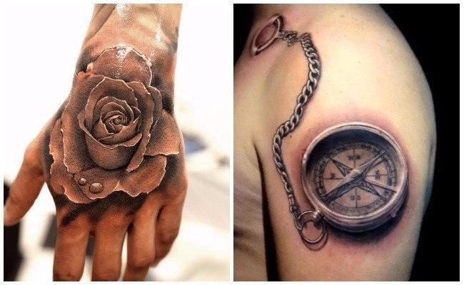 Tatuajes en tres d