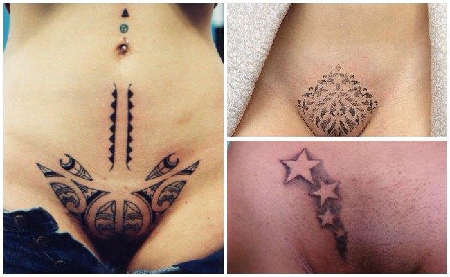 Tatuajes en zonas íntimas de chicas