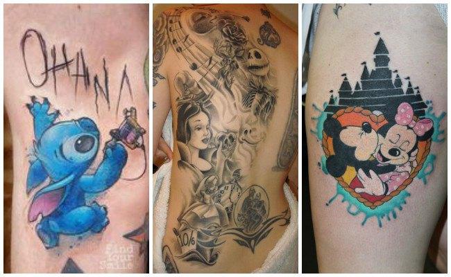 Tatuajes de estilo disney