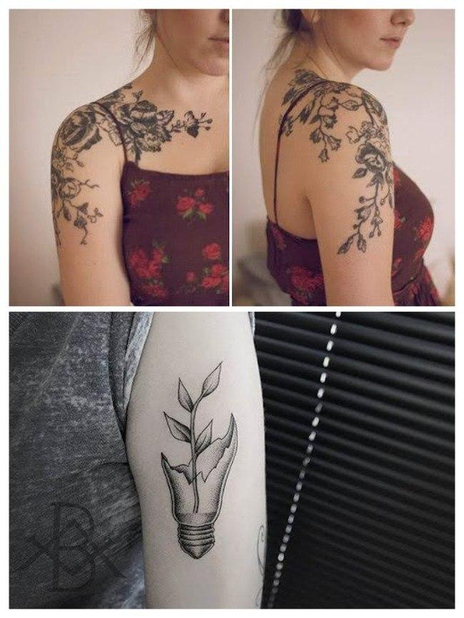 tatuajes femeninos brazo